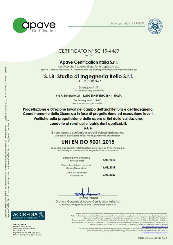 certificato ISO 9001 - qualità_001